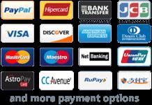 payment methods of iiiHOST